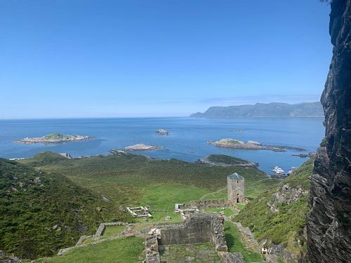 View of Selja Monastery