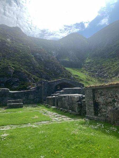 Monastery Ruins on Selja Island, Norway