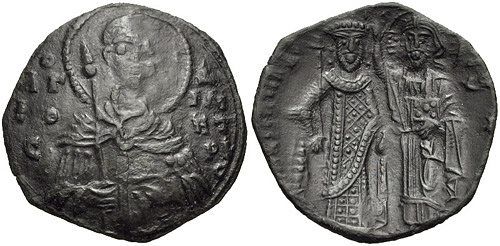 Coin of Manuel Komnenos Doukas (by Classical Numismatic Group, Inc., CC BY-SA)