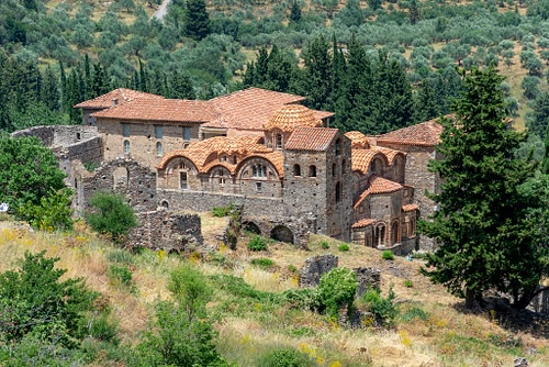 Cathedral of St. Demetrios, Mystras (by Ava Babili, CC BY-NC-ND)