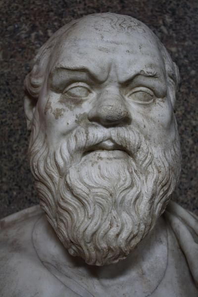 Socrates Bust, Vatican Museums (by Mark Cartwright, CC BY-NC-SA)