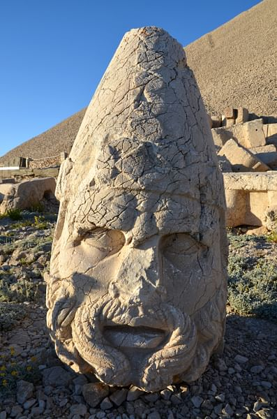 Head of Hercules-Artagnes-Ares on Mount Nemrut