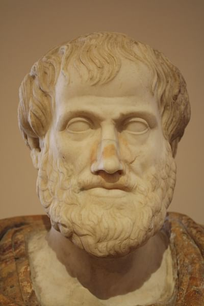 Aristotle Bust by Lisippo (by Mark Cartwright, CC BY-NC-SA)