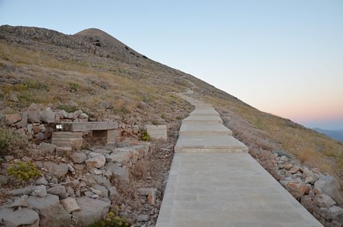Path to Mount Nemrut