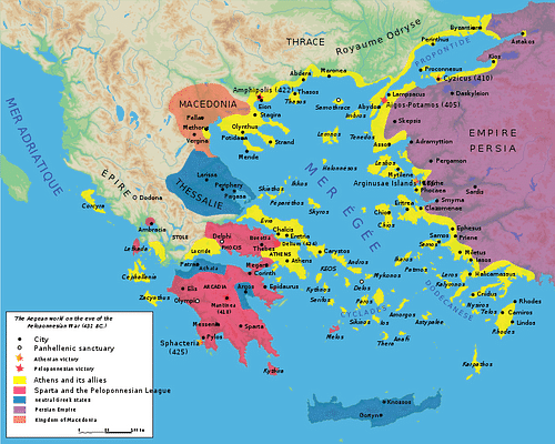 how did the peloponnesian war lead to the downfall of ancient greece