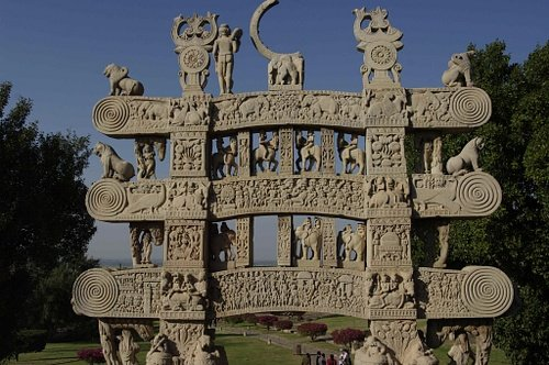 Sanchi Stupa Gate
