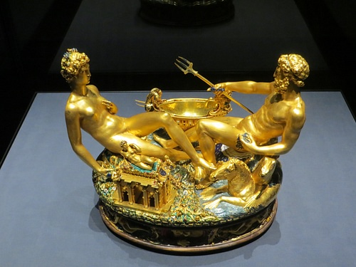 Gold Salt Cellar by Bellini