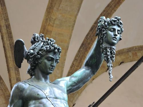 Perseus by Benvenuto Cellini (by Dimitris Kamaras, CC BY)
