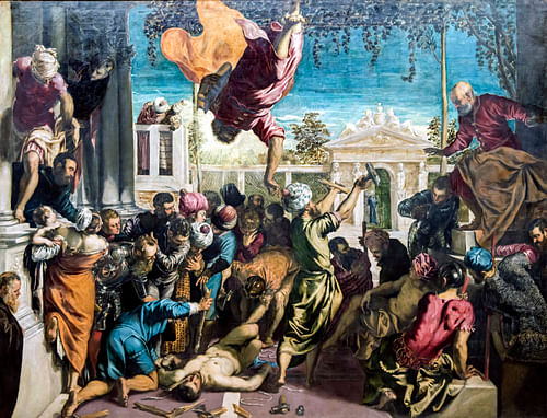 Miracle of St. Mark by Tintoretto