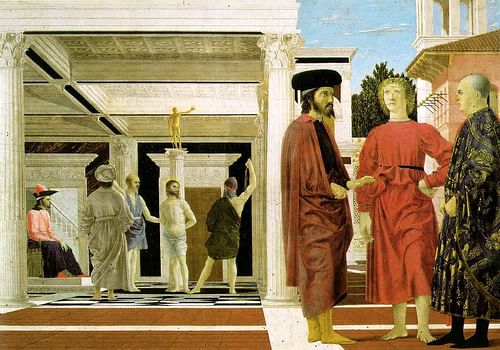 The Flagellation of Christ by Piero della Francesca (by Piero della Francesca, Public Domain)