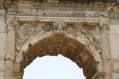Detail, Arch of Titus