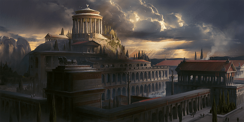 Greco-Roman Oracle (Artist's Impression) (by Mohawk Games, Copyright)