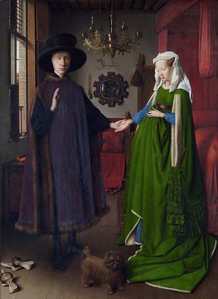 Arnolfini Wedding Portrait by Jan van Eyck