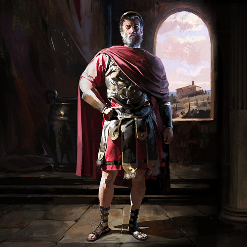 Philip II of Macedon (Artist's Impression)
