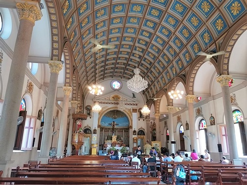Santa Cruz Church Interior