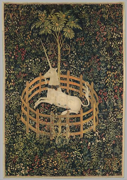 The Unicorn Rests in a Garden