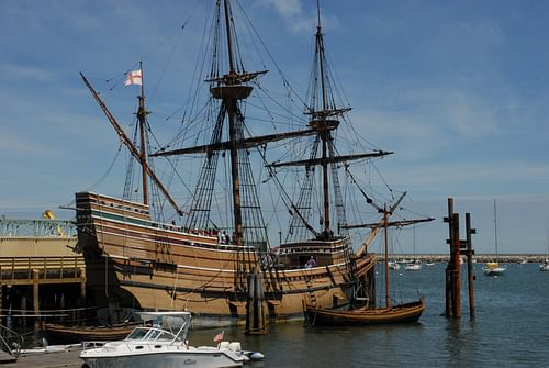 Mayflower II (by Andrew Hitchcock, CC BY)