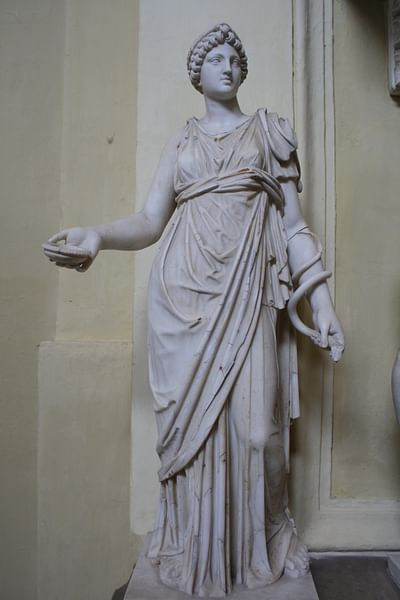 Hygieia, Vatican Museums (by Mark Cartwright, CC BY-NC-SA)