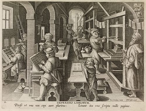 16th Century CE Flemish Book Printer