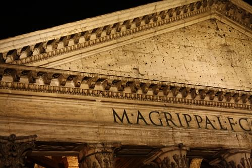 Pediment, Pantheon