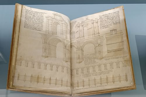 Pages from Serlio's Seven Books on Architecture