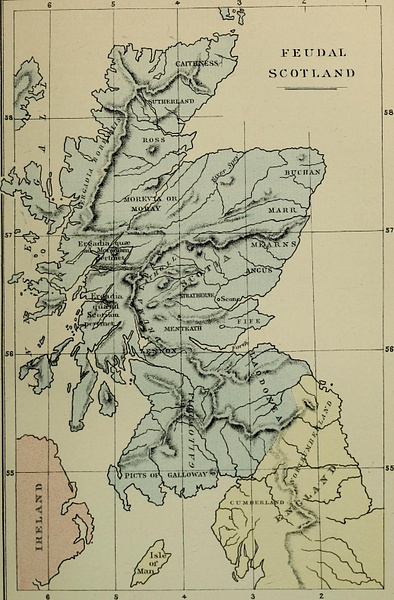 Map of Feudal Scotland