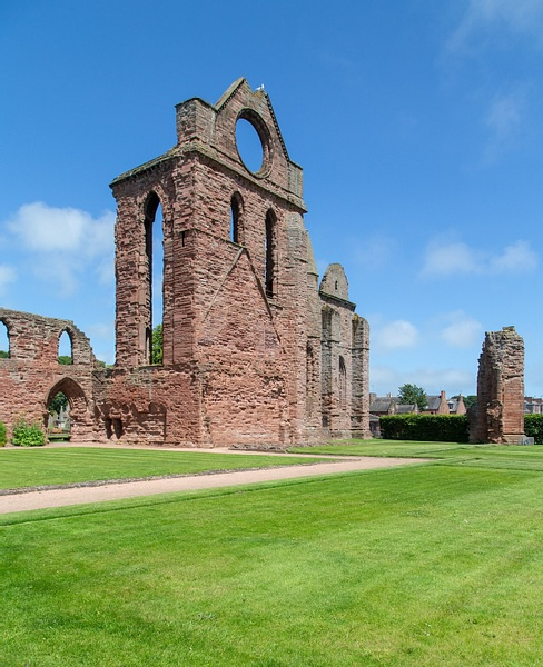 Ruins of Arbroath Abbey