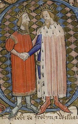 David II of Scotland & Edward III of England