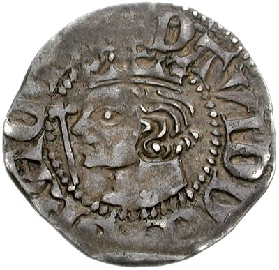 Silver Penny of David II of Scotland