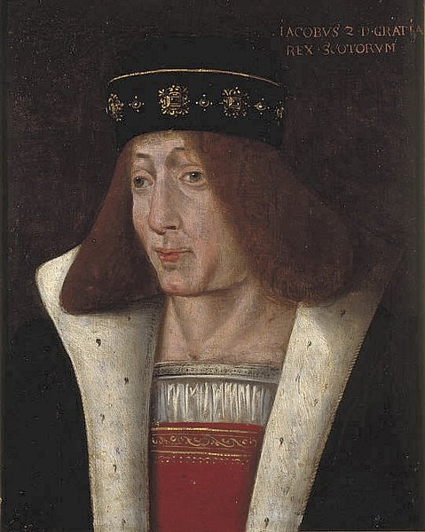 James II of Scotland (by Unknown Artist, Public Domain)