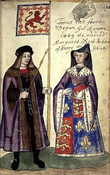 James IV of Scotland & Margaret Tudor