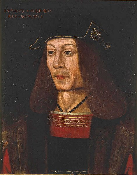 James IV of Scotland (by Unknown Artist, Public Domain)