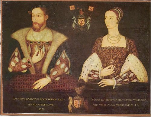 James V of Scotland & Mary of Guise