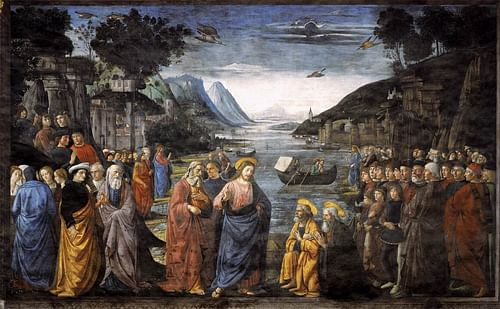Calling of the Apostles by Domenico Ghirlandaio