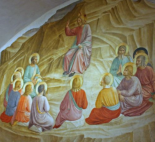 Christ and the Twelve Apostles by Fra Angelico