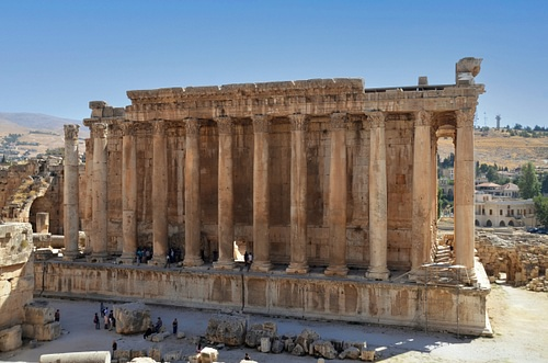 Temple of Bacchus, Baalbek