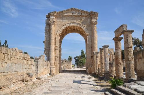 Arch of Hadrian, Tyre