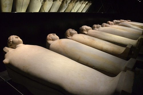 Anthropoid Sarcophagi from Sidon