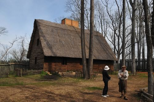 Reconstruction of a Colonist's Home, Henricus Colony