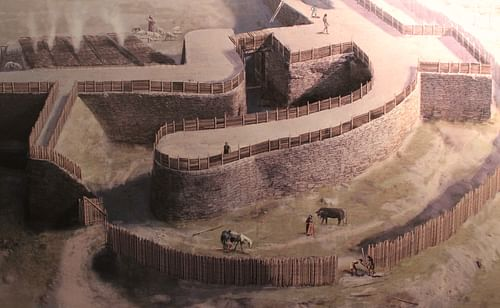 Celtic Oppidum Reconstruction (by Viator Imperi, CC BY-SA)