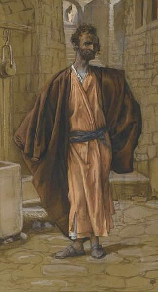 Judas Iscariot by James Tissot (by Brooklyn Museum, Public Domain)