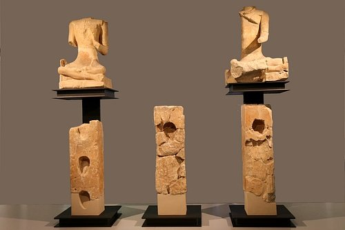 Figures & Head Columns from Celtic Roquepertuse