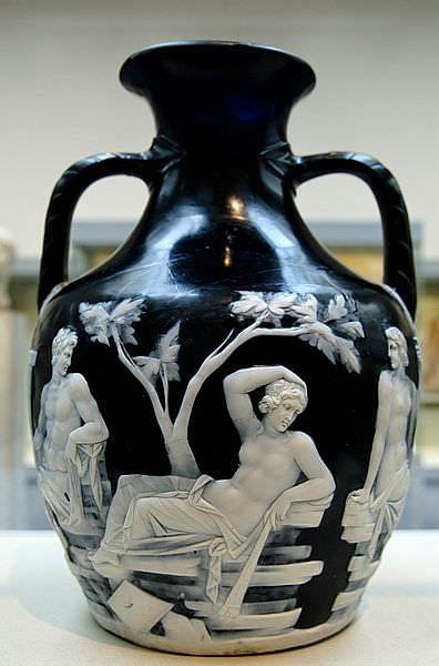 The Portland Vase Article Ancient History Encyclopedia