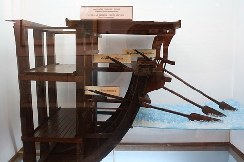 Trireme Cross Section