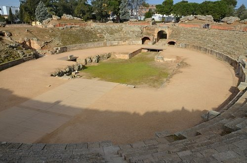 Roman Amphitheatre of Augusta Emerita (Mérida, Spain)