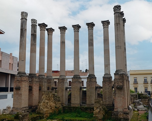 Roman Temple in Córdoba