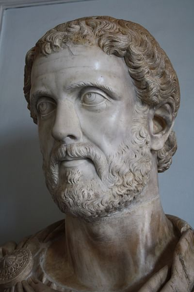 Bust of Antoninus Pius (by Mark Cartwright)