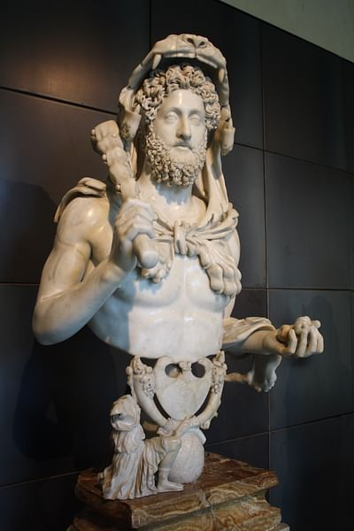 Commodus As Hercules (by Mark Cartwright, CC BY-NC-SA)