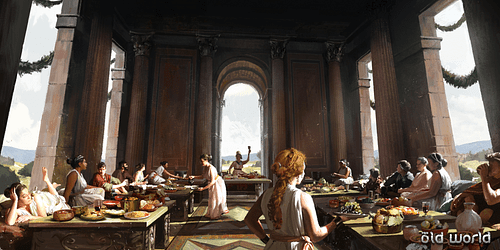 Lavish Roman Feast