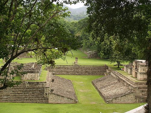 Ball Court, Copan (by Adalberto Hernandez Vega)